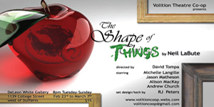 Volition Theatre Co-op Shape of things